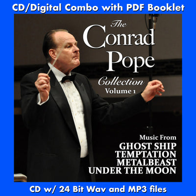 CONRAD POPE COLLECTION - VOL ONE: Ghost Ship, Temptation, Project Metalbeast, Under the Moon