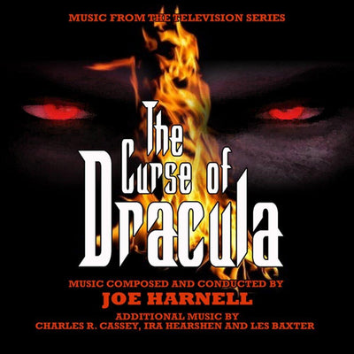 THE CURSE OF DRACULA - Original Soundtrack Recording by Joe Harnell and Les Baxter (2 CD SET)