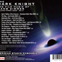 THE DARK KNIGHT: THE FILM MUSIC OF HANS ZIMMER VOL. 3 (W/Free Digital Download/booklet)