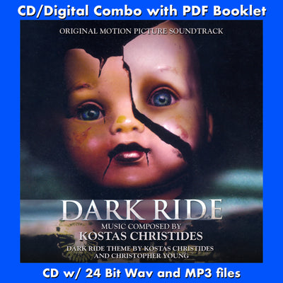 DARK RIDE - Original Soundtrack (CD comes with Free Digital Download/Digital booklet)