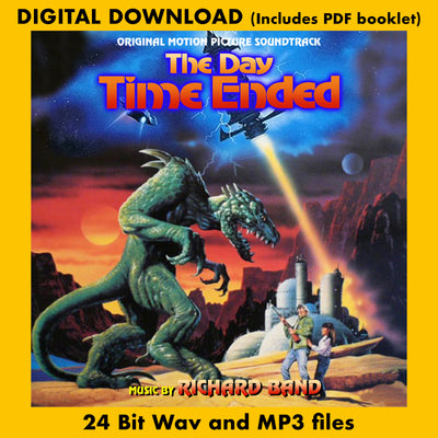 THE  DAY TIME ENDED - Original Soundtrack by Richard Band (Digital Download - 24 Bit Wavs, MP3s, Digital PDF)