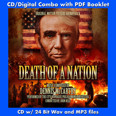 DEATH OF A NATION - Original Soundtrack (CD comes with Free Digital Download/Digital booklet)