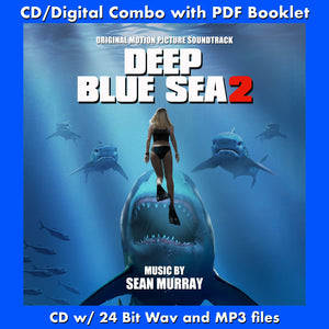 DEEP BLUE SEA 2 - Original Soundtrack (CD comes with Free Digital Download/Digital booklet)