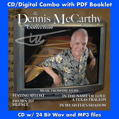 THE DENNIS McCARTHY COLLECTION - VOLUME ONE: THE TELEVISION MOVIES (CD comes with Free Digital Download/Digital booklet)