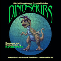MUSIC FOR DINOSAURS - Original Soundtrack from the Midwich Productions by David Spear