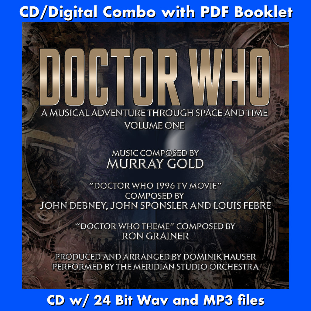 DOCTOR WHO: A Musical Adventure - Vol #1 (W/Free Digital Download/Digital booklet)