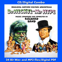 DR. HECKYL AND MR. HYPE - Original Soundtrack by Richard Band (CD comes W/Free Digital Download/Digital booklet)