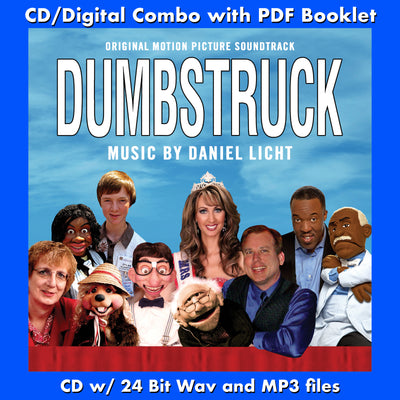 DUMBSTRUCK - Original Soundtrack (CD comes with Free Digital Download/Digital booklet)
