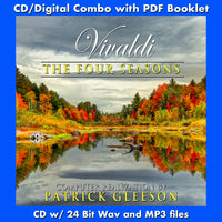 VIVALDI: THE FOUR SEASONS - Computer Realization by Patrick Gleeson - (CD comes with Free Digital Download/Digital booklet)