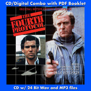 THE FOURTH PROTOCOL - Original Soundtrack By Lalo Schifrin (CD comes with Free Digital Download/Digital booklet)