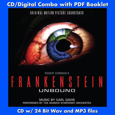 FRANKENSTEIN UNBOUND - Original Soundtrack (CD comes with Free Digital Download/Digital booklet)