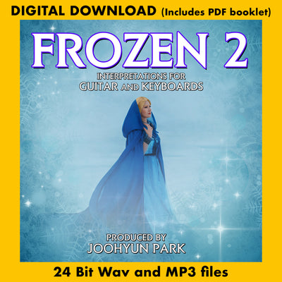 FROZEN II - Interpretations for Guitar and Keyboards (New Recording)