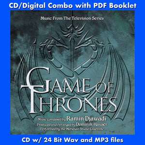 GAME OF THRONES - Music from the TV Series by Ramin Djawadi (CD comes with Free 24/44.1khz/MP3/Digital booklet exclusive bundle)