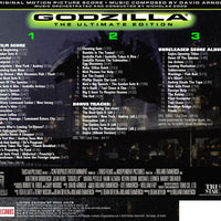 GODZILLA: THE ULTIMATE EDITION - Original Soundtrack by David Arnold - 3 CD Set