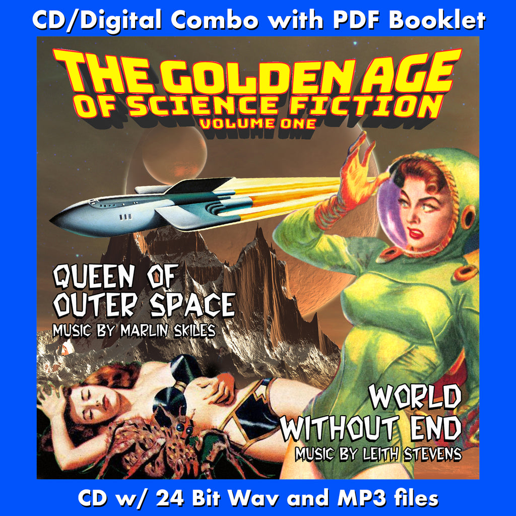 THE GOLDEN AGE OF SCIENCE FICTION - VOL. 1: QUEEN OF OUTER SPACE / WORLD WITHOUT END