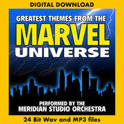 GREATEST THEMES FROM THE MARVEL UNIVERSE - Performed by the Meridian Studio Orchestra