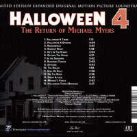 HALLOWEEN IV: THE RETURN OF MICHAEL MYERS - Original Soundtrack by Alan Howarth