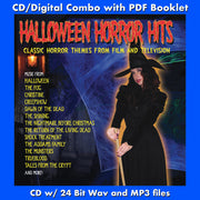 HALLOWEEN HORROR HITS  - Volume One: Classic Horror Themes from Film and Television