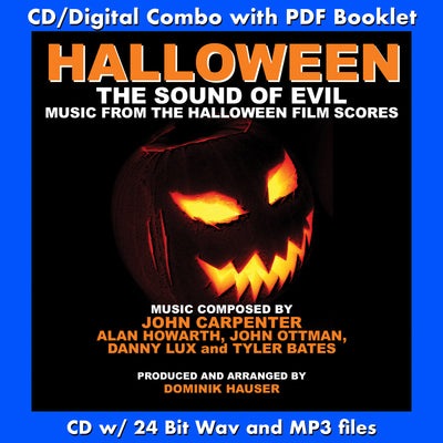 HALLOWEEN: Music from the HALLOWEEN Film Scores (W/Free Digital Download/Digital booklet)