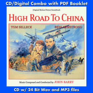 HIGH ROAD TO CHINA - Expanded Original Soundtrack by John Barry (CD comes with Free 24/44.1khz/MP3/Digital booklet exclusive bundle)
