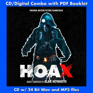 HOAX - Original Soundtrack by Alan Howarth (CD comes with Free Digital Download/Digital booklet)