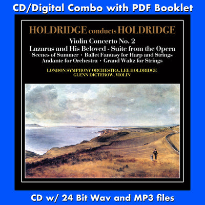 HOLDRIDGE CONDUCTS HOLDRIDGE - (CD comes with Free Digital Download/Digital booklet)