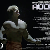 INCREDIBLE HULK, THE: Prometheus Pts 1 & 2 - Original Soundtrack by Joe Harnell