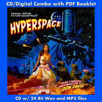 HYPERSPACE - Original Soundtrack (CD comes with Free Digital Download/Digital booklet)