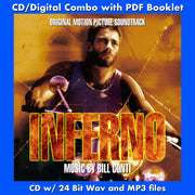 INFERNO - Original Soundtrack by Bill Conti (CD comes W/Free Digital Download/Digital booklet)