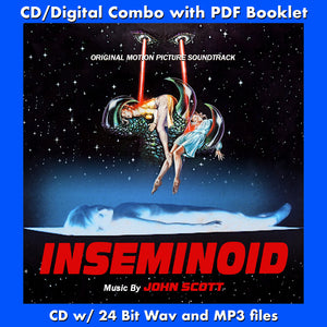 INSEMINOID - Original Motion Picture Soundtrack by John Scott