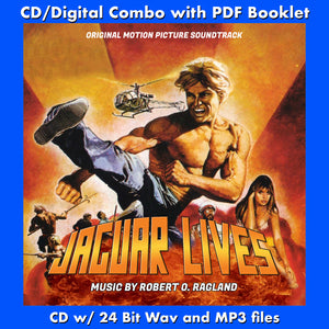 JAGUAR LIVES - Original Soundtrack by Robert O. Ragland (CD comes W/Free Digital Download/Digital booklet)