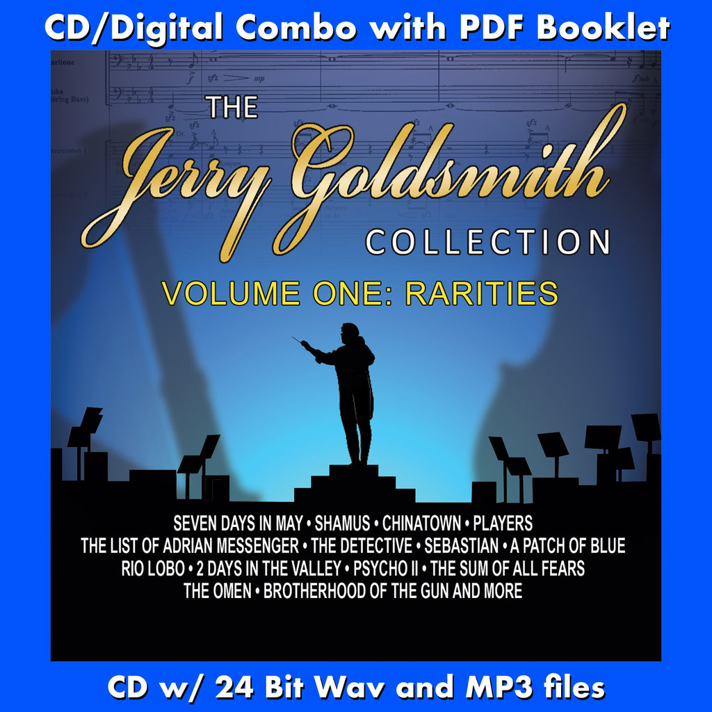 THE JERRY GOLDSMITH COLLECTION - Volume One: Rarities (W/Free Digital  Download/Digital booklet)