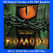 KOMODO - Original Soundtrack (CD comes with Free Digital Download/Digital booklet)