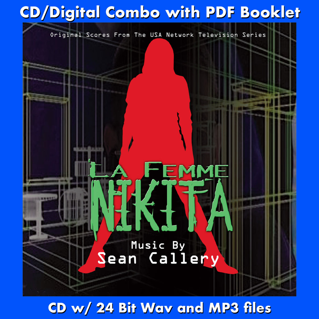 LA FEMME NIKITA - Original scores to the TV Series (W/Free Digital  Download/Digital booklet)
