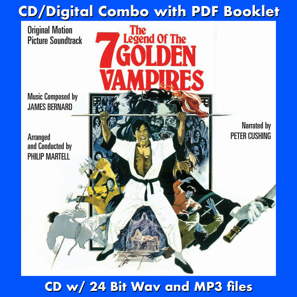 THE LEGEND OF THE 7 GOLDEN VAMPIRES-Original Soundtrack