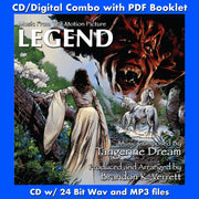 LEGEND: Music From the Motion Picture - (CD comes with Free Digital Download/Digital booklet)