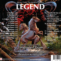 LEGEND: Music From the Motion Picture Composed by Tangerine Dream (CD comes with Free Digital Download/Digital booklet)