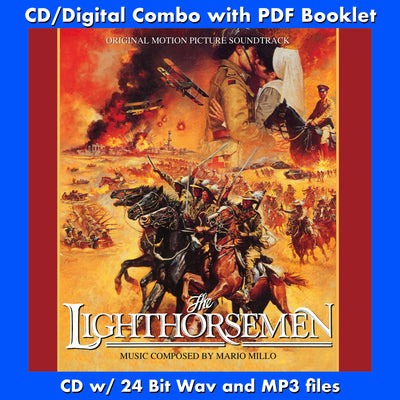 THE LIGHTHORSEMEN - Original Soundtrack by Mario Millo (CD comes with Free Digital Download)