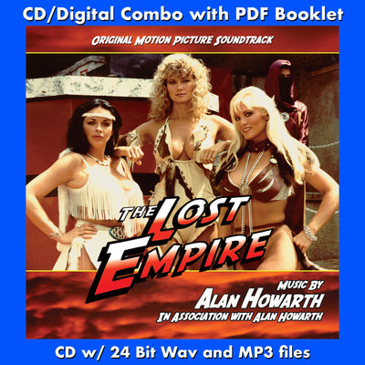 THE LOST EMPIRE-Original Soundtrack (2-CD SET)