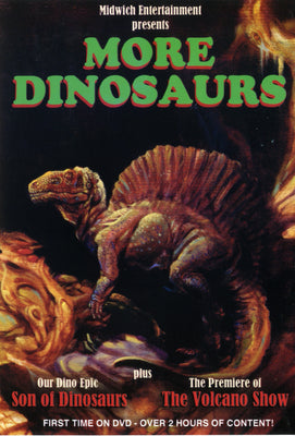 MORE DINOSAURS - DVD release