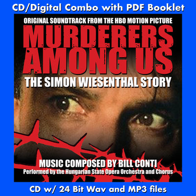MURDERERS AMONG US: Original Soundtrack (CD comes with Free Digital Download/Digital booklet)