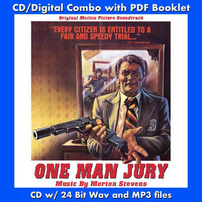 ONE MAN JURY - Original Soundtrack (W/Free Digital Download/Digital booklet)