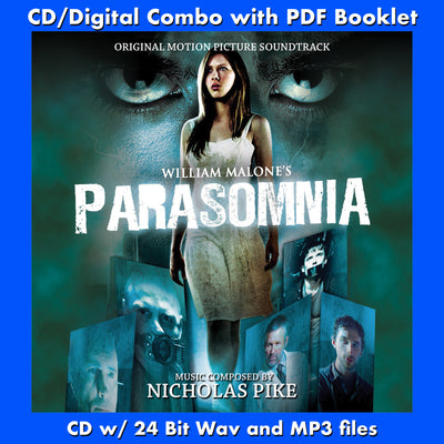 PARASOMNIA - Original Soundtrack by Nicholas Pike (CD comes with Free Digital Download/Digital booklet)