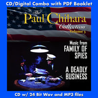 THE PAUL CHIHARA COLLECTION Vol. 3: FAMILY OF SPIES/A DEADLY BUSINESS Original Soundtracks