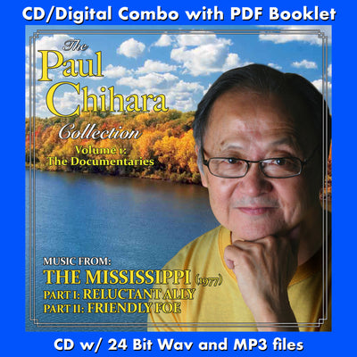 PAUL CHIHARA COLLECTION VOL 1 - THE MISSISSIPPI - (Free Digital Download/Digital booklet bundle)
