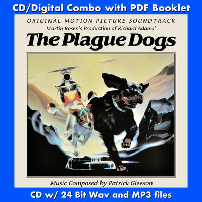 PLAGUE DOGS, THE - Original Soundtrack (CD comes Free Digital Downlaod/Digital booklet )