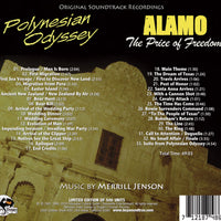 POLYNESIAN ODYSSEY / ALAMO-Original Soundtracks by Merrill Jenson (W/Free Digital Download/booklet)
