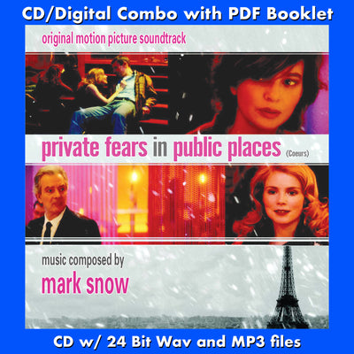 PRIVATE FEARS IN PUBLIC PLACES- Original Soundtrack (W/Free Digital Download/Digital booklet)