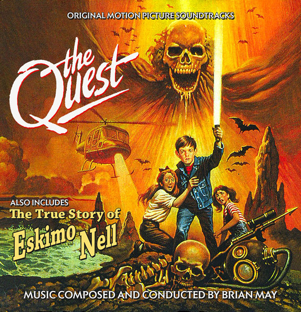 THE QUEST / THE TRUE STORY OF ESKIMO NELL - Original Soundtracks by Brian May