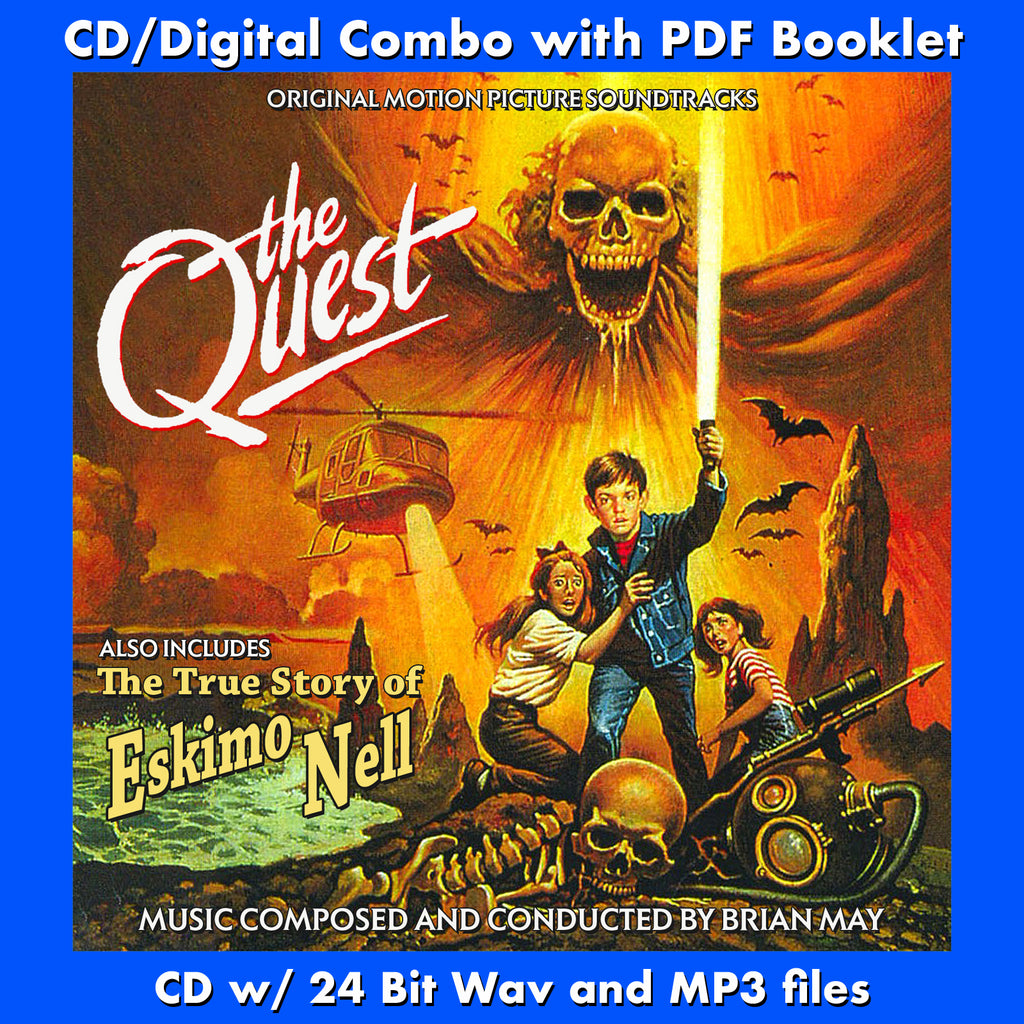 THE QUEST / THE TRUE STORY OF ESKIMO NELL - Original Soundtracks by Brian May (CD comes with Free Digital Download/Digital booklet)